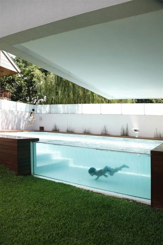 Above Ground Swimming Pool: Stunning Small Design