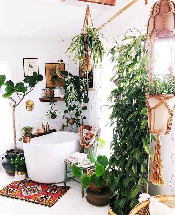 Boho Bathroom Ideas: Fresh Cathy Decor