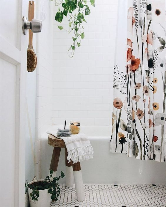 boho bathroom idea 10