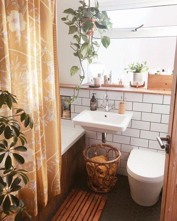 boho bathroom idea 12