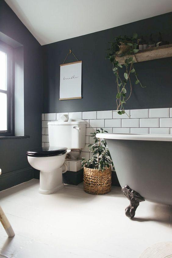 boho bathroom idea 16