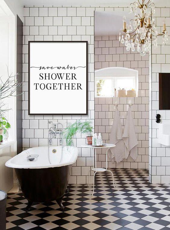 boho bathroom idea 17