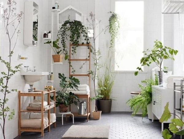 boho bathroom idea feature