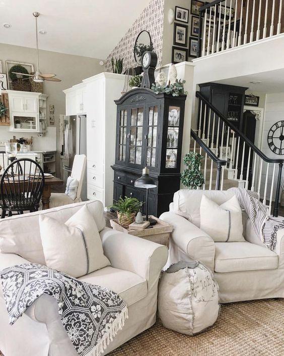farmhouse living room 11