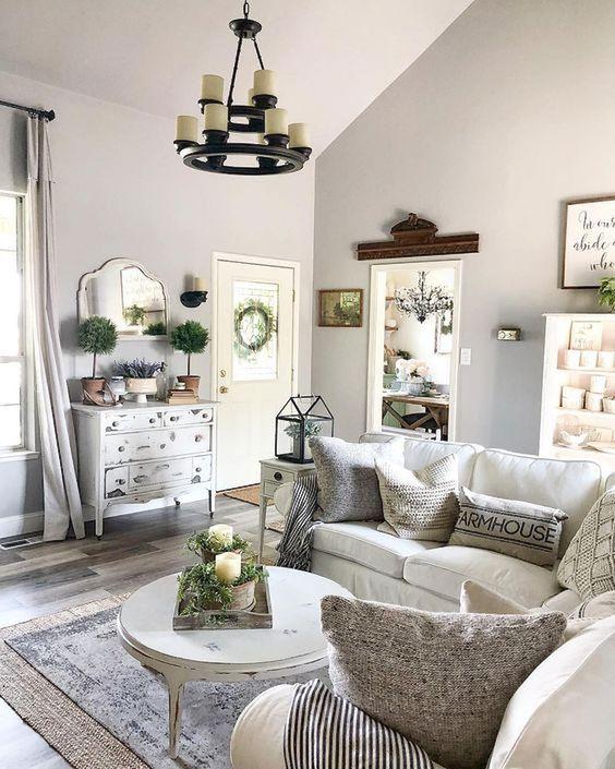 farmhouse living room 13