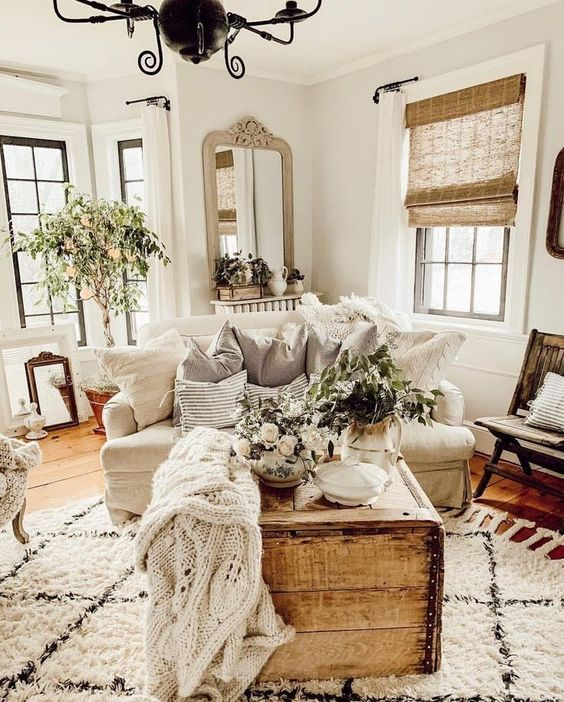 farmhouse living room 9