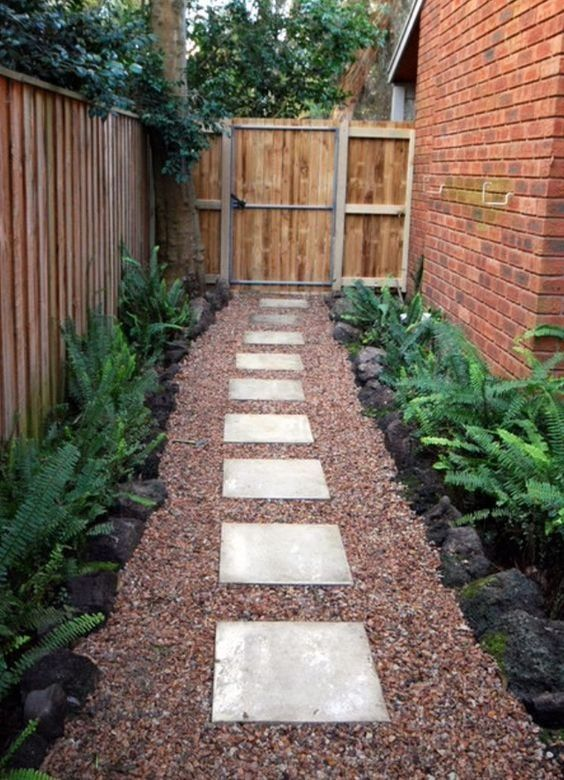 Small Backyard Landscaping: Rustic Earthy Nuance