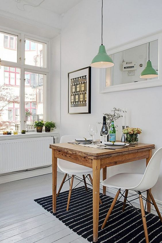 Small Dining Room: Simply Gorgeous Decor