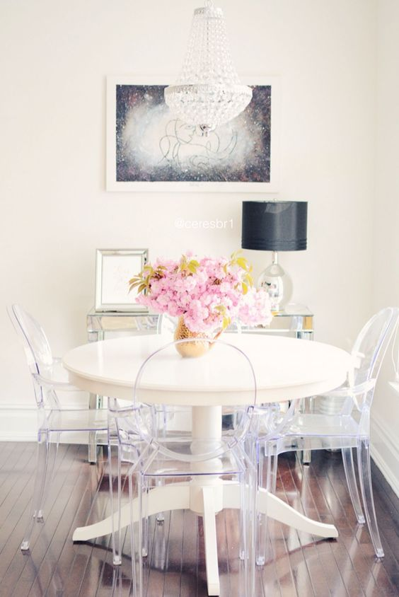 Small Dining Room: Elegant Eclectic Decor