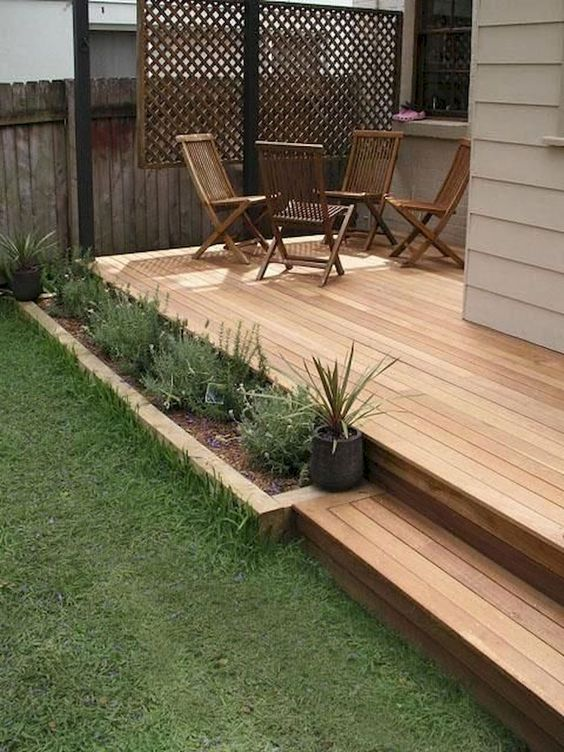 Backyard Deck Ideas: Elegant Minimalist Design