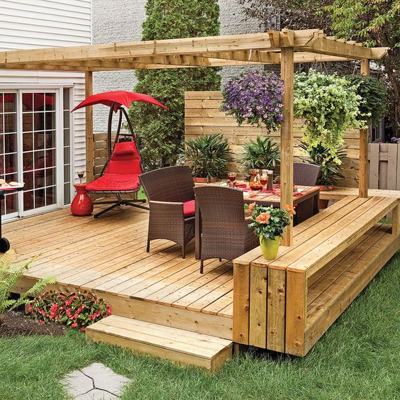 Backyard Deck Ideas 8