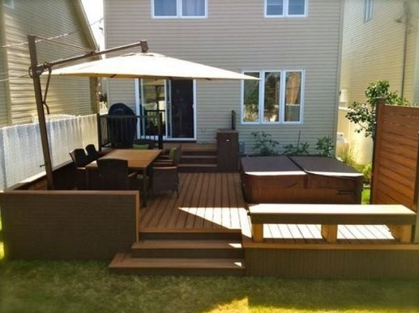 Backyard Deck Ideas feature