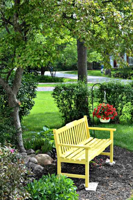 Backyard Seating Ideas 11