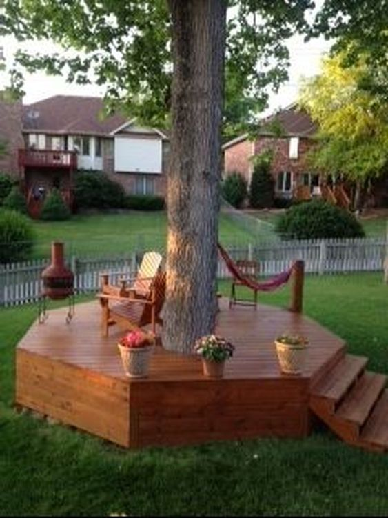 Backyard Seating Ideas 8