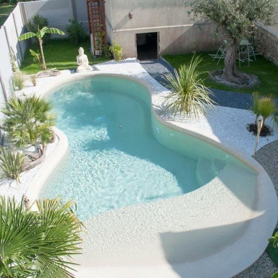Beach Entry Swimming Pool: Gorgeous Stylish Design