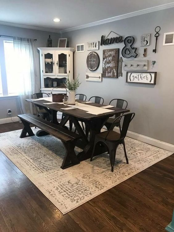 Farmhouse Dining Room 10
