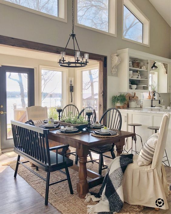 Farmhouse Dining Room 11