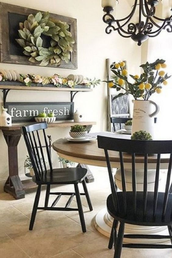 Farmhouse Dining Room 12