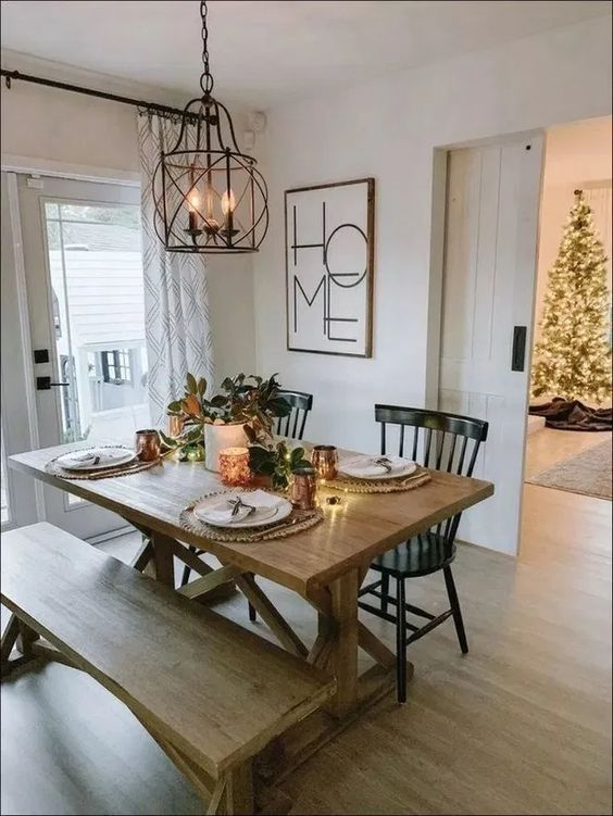 Farmhouse Dining Room 14