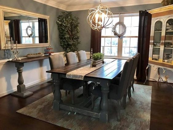 Farmhouse Dining Room 20