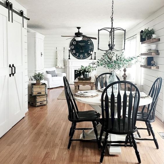 Farmhouse Dining Room 9