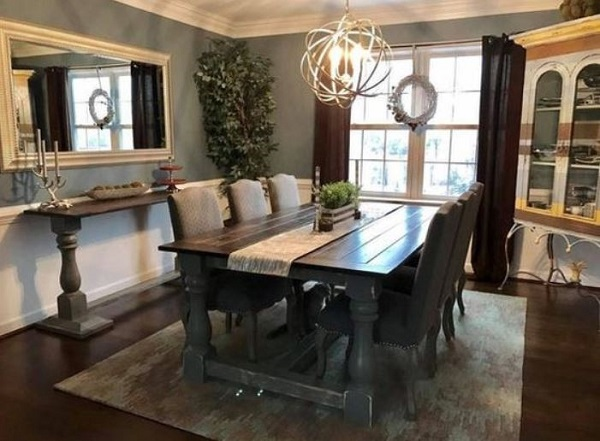 Farmhouse Dining Room feature