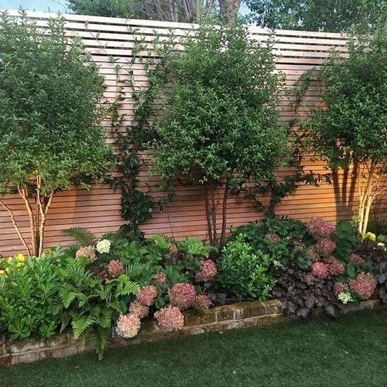 Fence Landscaping Ideas 6