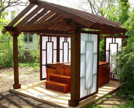 Hot Tub Enclosure Winter 11