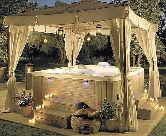 Hot Tub Enclosure Winter 12