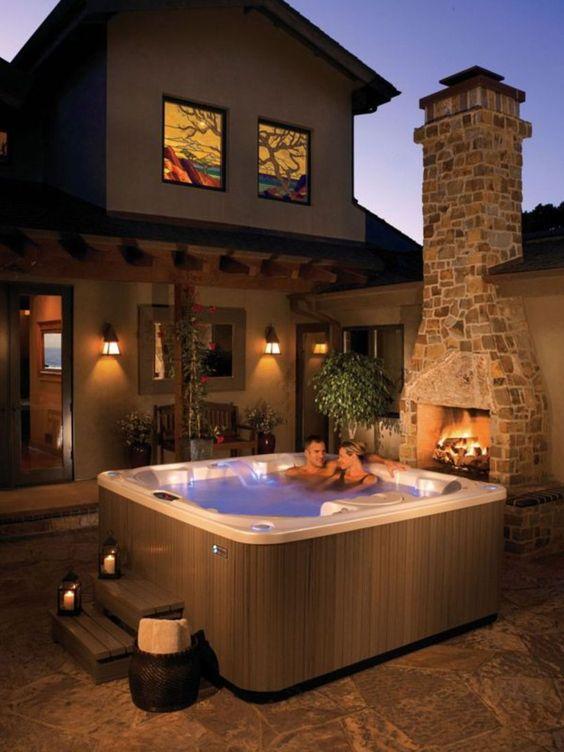 Hot Tub Patio 10