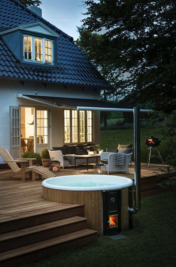 Hot Tub Patio 16