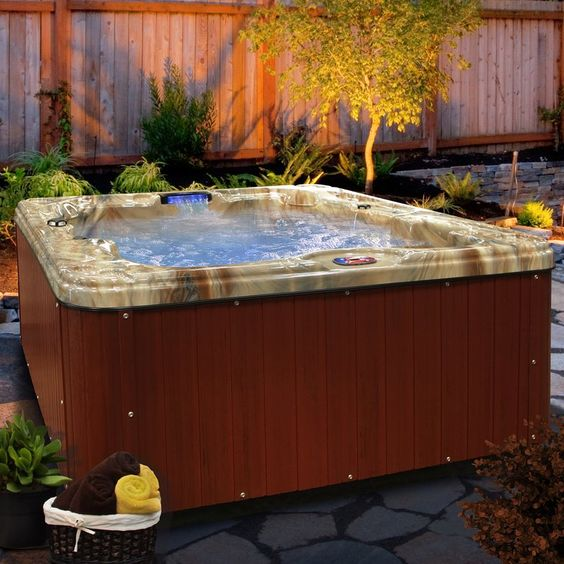 Hot Tub Patio 5