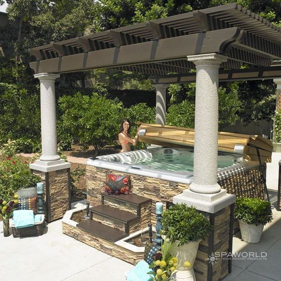 Hot Tub Patio 8