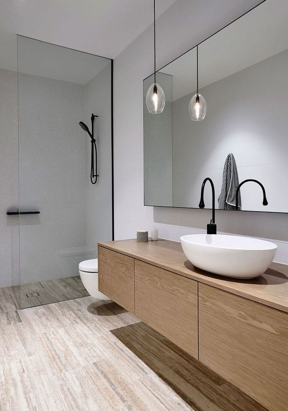 Minimalist Bathroom Ideas: Stylish Earthy Decor