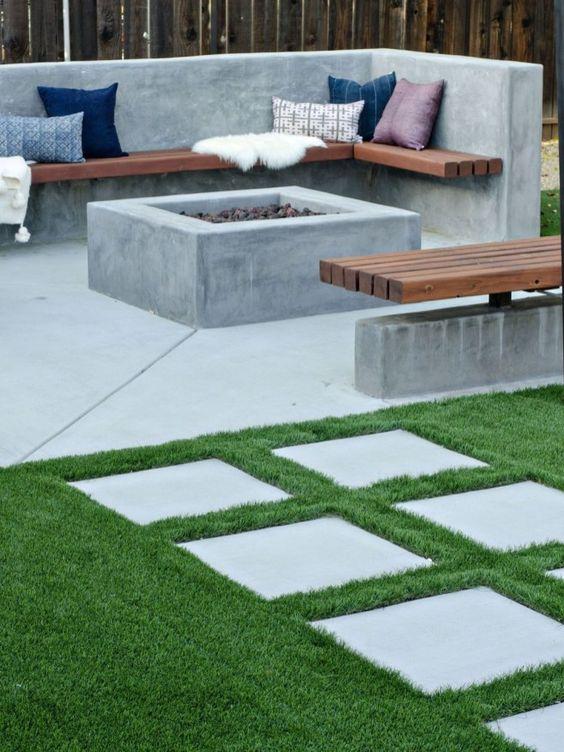 Modern Backyard Ideas: Elegant Rustic Decor