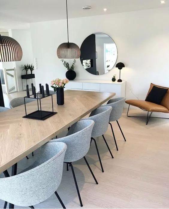Modern Dining Room 17