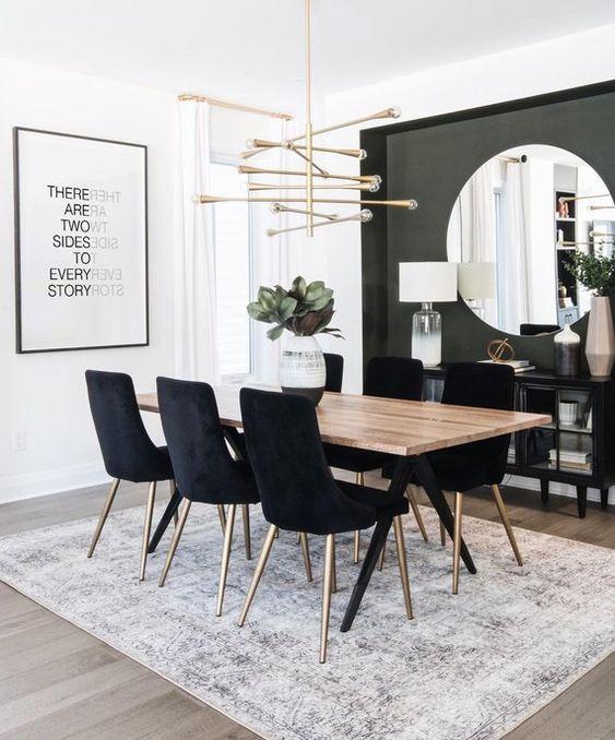 Modern Dining Room 19