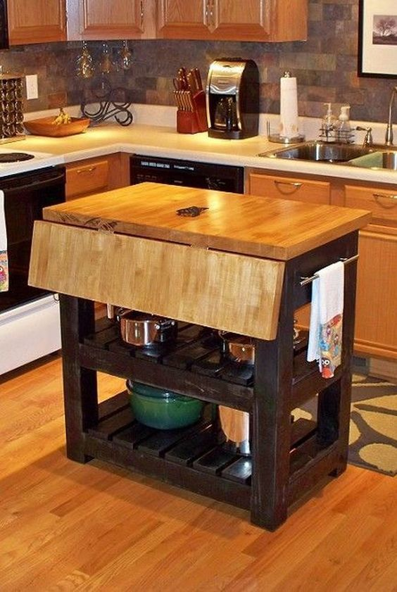 Small Kitchen Island 19