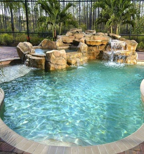 Swimming Pool Landscaping 13