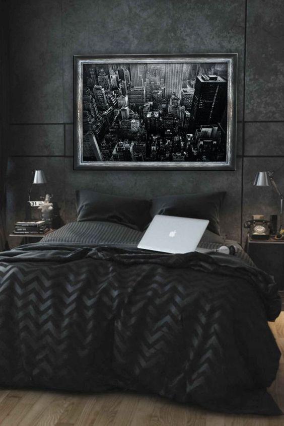 dark bedroom ideas 11