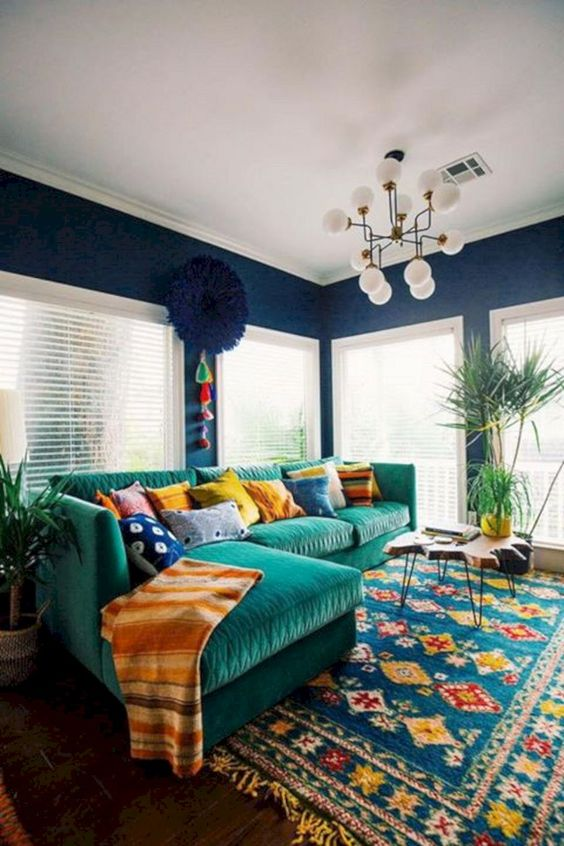 eclectic living room ideas 12