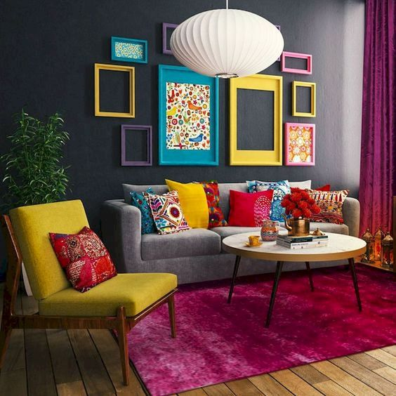 eclectic living room ideas 14