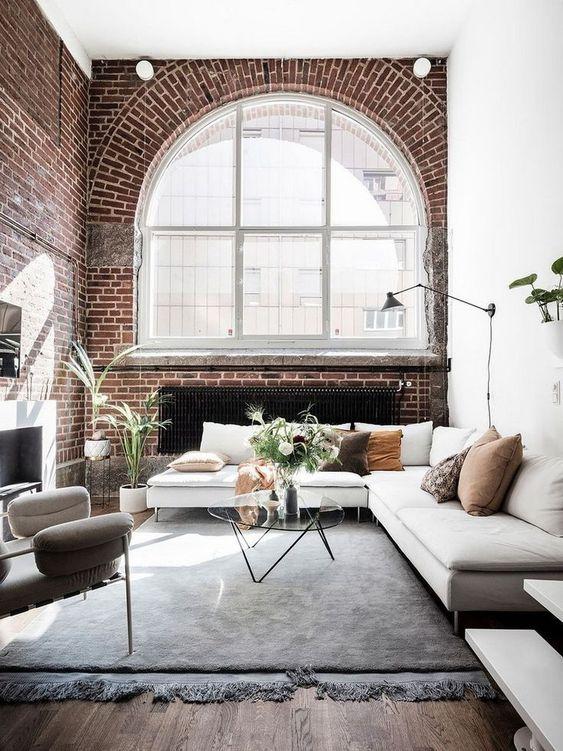 industrial living room 12