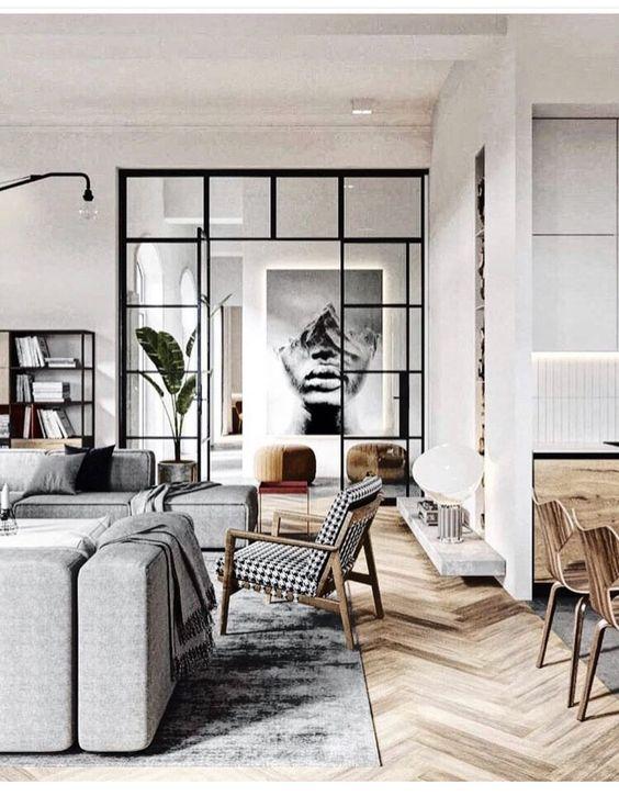 industrial living room 14
