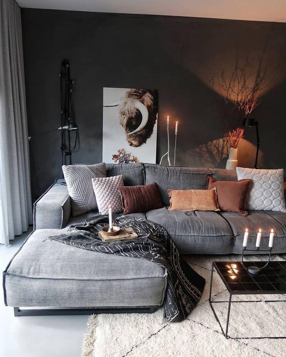 industrial living room 16