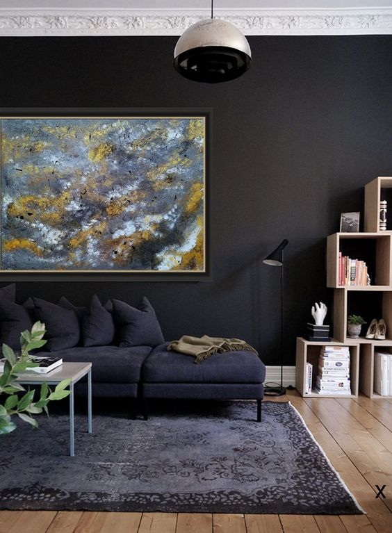 industrial living room 19