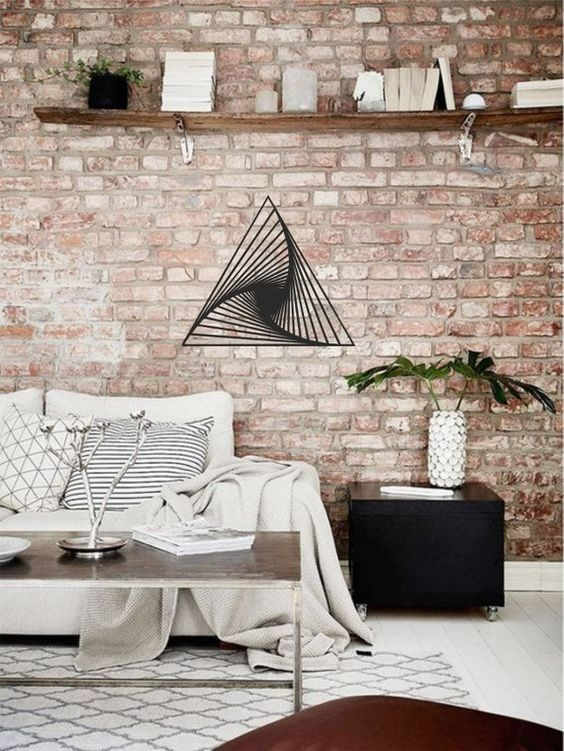 Industrial Living Room: Chic Bright Decor