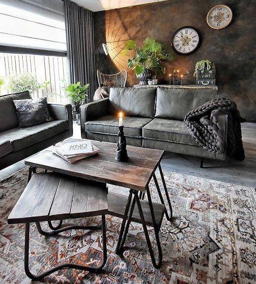 industrial living room 5