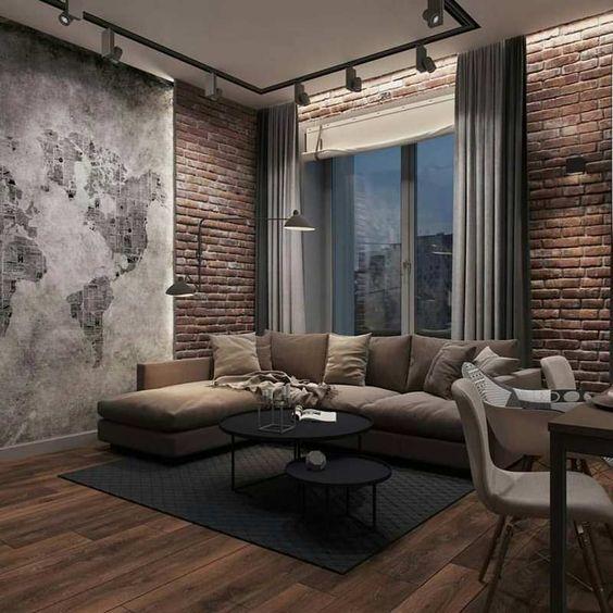 industrial living room 6