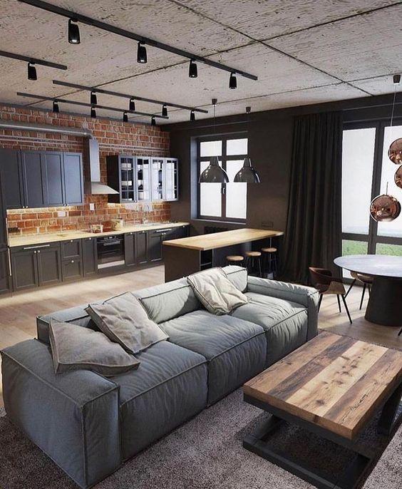 industrial living room 7